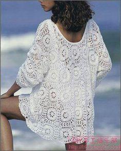 Bluson crochet  1-2