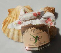 handmade herbal scrub with sea salt and sugar