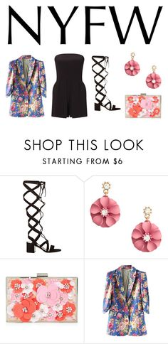 """""""Untitled #910"""" by campbell765 ❤ liked on Polyvore featuring Gianvito Rossi, New Look and Miss Selfridge"""