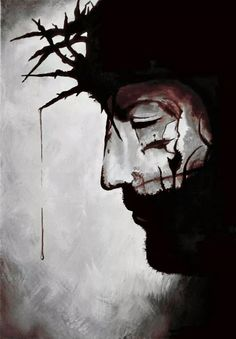watercolor of jesus christ with crown of thorns - Bing images Croix Christ, Jesus Crown, Pictures Of Christ, Jesus Painting, Jesus Christus, Jesus Art, Prophetic Art, Biblical Art, Crown Of Thorns