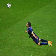 Robin van Persie. FIFA World Cup 2014. Best goal ever.
