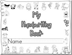 Handwriting Book -  Pinned by @PediaStaff – Please Visit http://ht.ly/63sNt for all our pediatric therapy pins