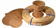Kids Sampler Basket Weaving Kit for ages 9 and up. $16.95 from BasketWeaving.com. Click here for more info.