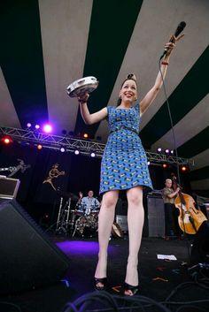 Imelda May at Folk fest