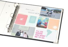 Sister missionary scrapbooking kits. So cute and easy!