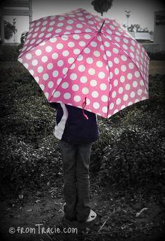 pink + polka dots = :)