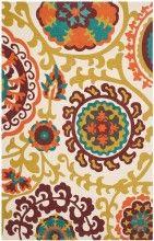 Orange Area Rugs | Find Burnt, Bright Color Rugs at BuyAreaRugs.com