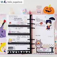 Repost hello_sugarlove  my planner is so bare this week  I've been choosing sleep over planner time lol #plannercommunity #plannergoodies #filofaxlove #kikkikwhynot #kikkik #marypoppins #bookmarks #book #layout #inserts #plannernerd #planneraddicted #planneraddict #plannerjunkie #totoro #kawaii #planner #week by keenaprints