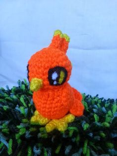 Phoenix! Hey, I found this really awesome Etsy listing at https://www.etsy.com/listing/210678860/amigurumi-phoenix-tiny-crochet-bird-of