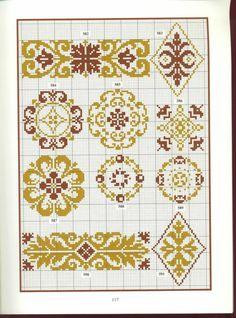 Gallery.ru / Фото #49 - схемы - vividen Beaded Cross Stitch, Cross Stitch Borders, Cross Stitch Samplers, Cross Stitch Charts, Cross Stitch Patterns, Hardanger Embroidery, Diy Embroidery, Cross Stitch Embroidery, Embroidery Patterns