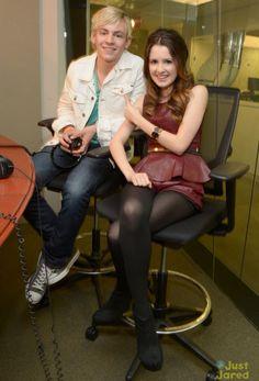 Photos: Ross Lynch And Laura Marano At Sirius XM Studios March 11, 2013