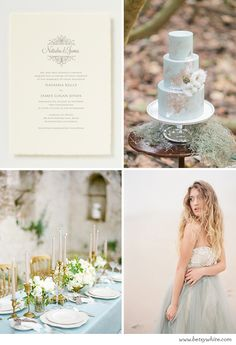Inspiration: Washed Out Nuptials