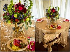 Modern Indian Styled Wedding © Todd White Photography for Bliss Bridal Magazine | Austin, Texas Wedding Magazine Gold details with vibrant color accents. Zuzu's Petals, Illusions Rentals, Design by Cari Wible, Catering by Blevin's Best Catering