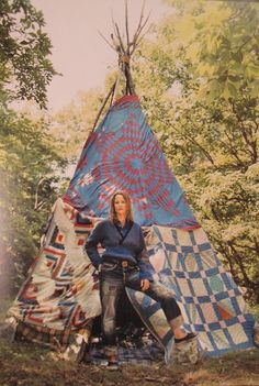 Quilt teepee - nothing else needs to be said