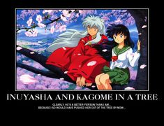 Inuyasha Kagome motivational by on DeviantArt Inuyasha Memes, Inuyasha And Kikyo, Inuyasha Funny, All Anime, Me Me Me Anime, Anime Manga, Anime Art, Manhwa, Videos Anime