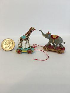 1:12 miniature pull toys