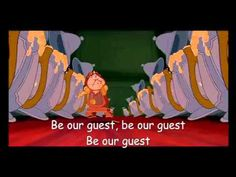Be our guest! Beauty and the Beast play this while people arrive and wait for food at reception! <3