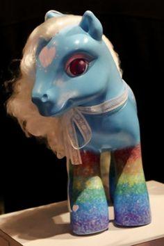 My custom My Little Pony on The Wall Street Journal