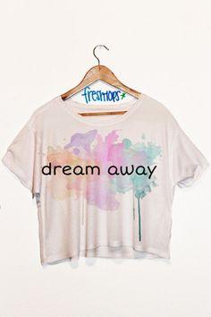 Dream Away Short Sleeve Crop Top