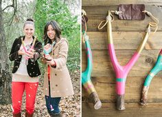 DIY: Confetti Slingshot...such a great #wedding favor! From http://greenweddingshoes.com/diy-confetti-slingshot/  DIY by http://goinglovely.com/