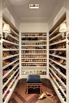 If you have all these beautiful pair of shoes, then you definitely need this huge #Closet for them