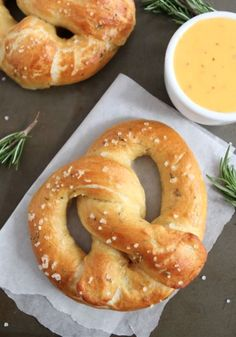 Rosemary Sea Salt Pretzel Recipe