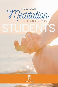 Did you know meditation can help manage anxiety? Meditation is something you can do anywhere too, including meditation apps that are available on your phone or tablet. Learn why meditation is effective and how you can start. College Stress, College Fun, College Life, College Students, College Campus, Meditation For Anxiety, Free Guided Meditation, Meditation Apps, Study Apps