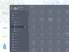 Hi everyone A while ago I decided to redesign Iconjar app and I made the dark mode in the next version of redesign and now I want to share the file with you, you can download it from the archives f...