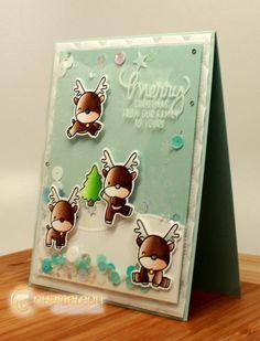 Mama Elephant | Reindeer Games | Christmas