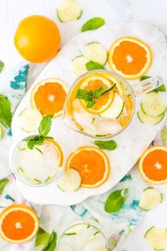 Cucumber Water - Spa Water Recipe