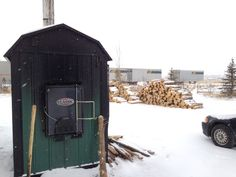 Heating a Greenhouse with Wood: Wood Burning Boilers