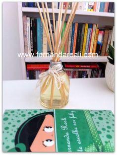 Aromatizador de Ambientes - PAP - Faça o seu! - Home scents diffusers DIY Reuse 3 R's