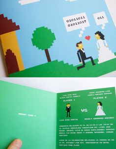 Gamer Wedding Invitation