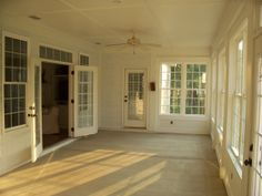 Remodel Project Screen Porch Turned Into Sun Room Interior Pic 7