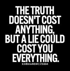 sayings about people who lie