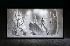 Retail Design Blog — The Christmas Story Windows by Emma Roach at...