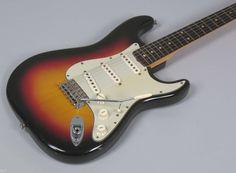 1962 Fender Stratocaster Sunburst > Guitars : Electric Solid Body - Nationwide Guitars