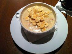 Clam Chowder Recipe served at Liberty Tree Tavern in Magic Kingdom at Disney World