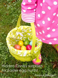 """10 ways to """"earn"""" Disney Pins: Our favorite was the Easter egg method but there are adorable suggestions for all year round! #disneysmmoms"""