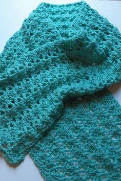 Free Crochet Summer Shawl Pattern. | Free Crochet Shawl ...