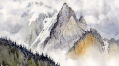 40 Examples of Watercolor Paintings