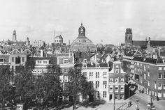 Wijnhaven met Posthoornsteeg 1933