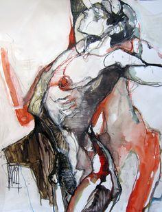 Aurore Lephilipponnat danse butoh serie 2