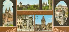 Praha Places Of Interest, Bratislava, Prague, Most Beautiful Pictures, Postcards, Mount Rushmore, Taj Mahal, Cities, Mountains