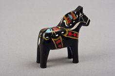 Swedish Dala Horse  SALE  5 Dollars OFF by TheIronKettle on Etsy
