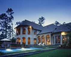 Wonderful rear patio with relaxing pool - plan 026D-1405 - houseplansandmore.com