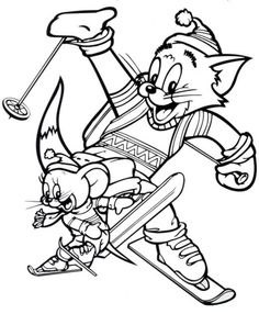 169 Best Tom Jerry Images In 2019 Coloring Pages Coloring Book