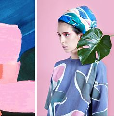 VARIETY HOUR is a new colourful print-focused label by textile designer Cassie…