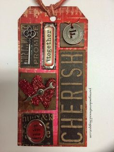 12 Tags of 2014 Tim Holtz May Entry