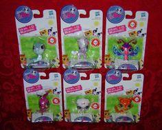 Littlest Pet Shop singles lot Seal Horse Butterfly Kangaroo Lamb Collie Hasbro